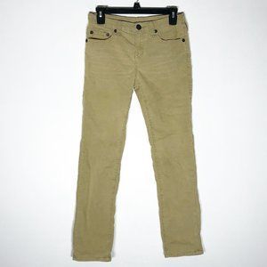 True Religion Corduroy Pants Boys 14 Tan